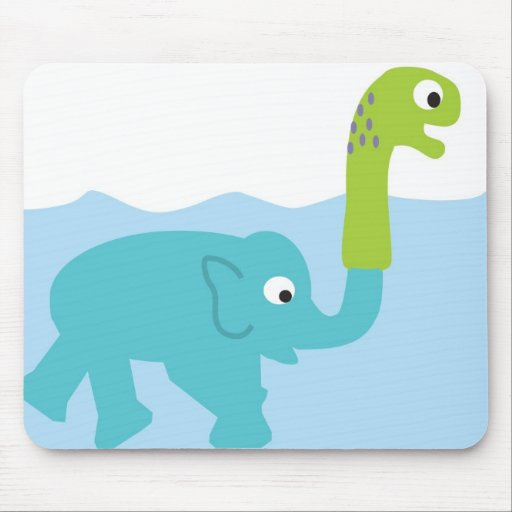 the real lochness monster! mouse pad
