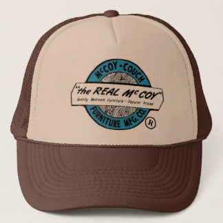 """The Real McCoy""  McCoy Couch Furniture MFG CO. Trucker Hat"