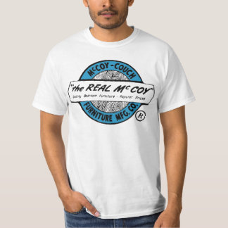 """The Real McCoy"" ( McCoy - Couch MFG. CO. ) T-Shirt"
