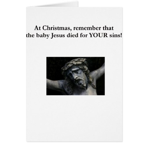 The real meaning of Christmas Cards