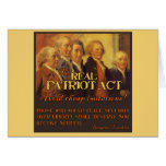 The Real Patriot Act, The Founding Fathers Card