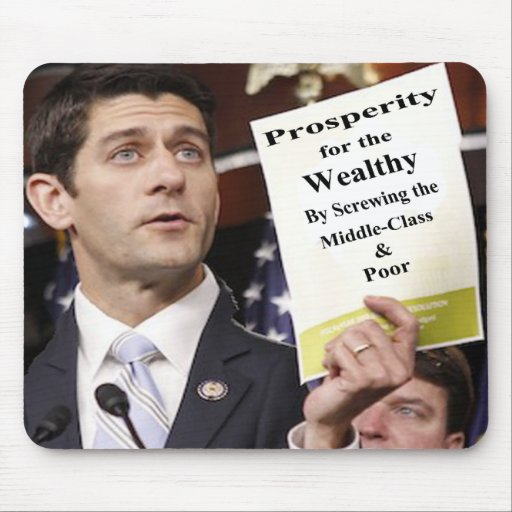The Real Paul Ryan Plan Mouse Pad