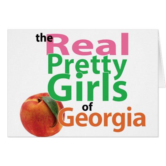 the real PRETTY GIRLS of Georgia Card