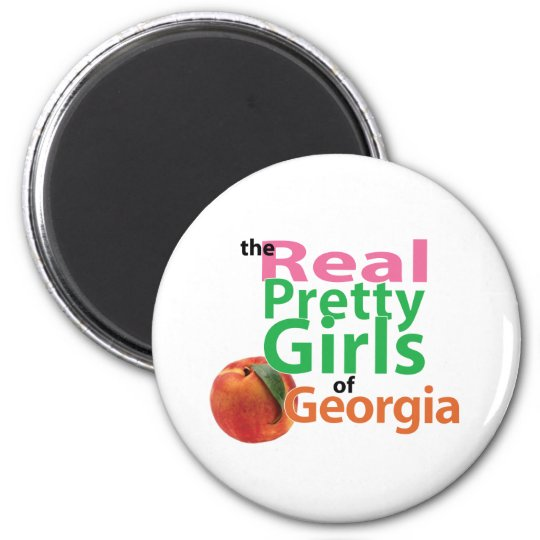 the real PRETTY GIRLS of Georgia Magnet