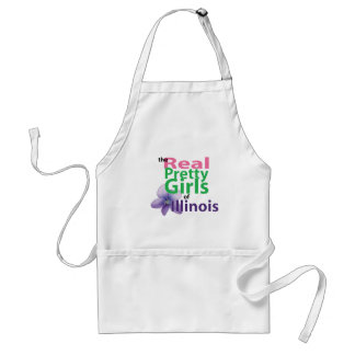 the real PRETTY GIRLS of Illinois Adult Apron