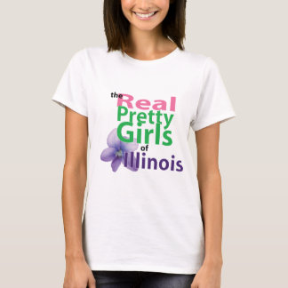 the real PRETTY GIRLS of Illinois T-Shirt
