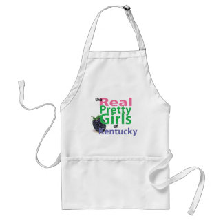 the real PRETTY GIRLS of Kentucky Adult Apron