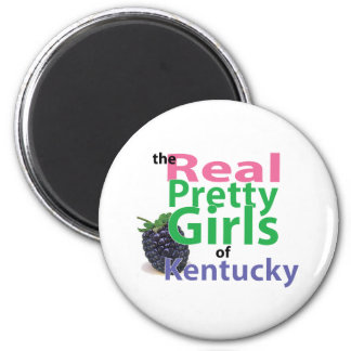 the real PRETTY GIRLS of Kentucky Magnet
