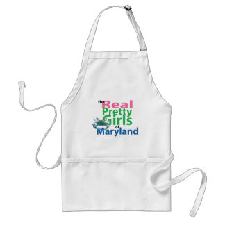 The Real Pretty Girls of Maryland Adult Apron