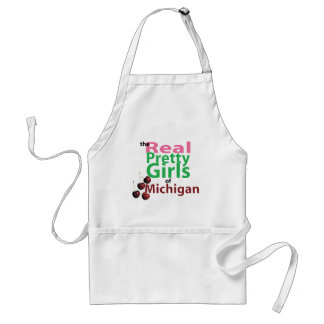the real PRETTY GIRLS of Michigan Adult Apron