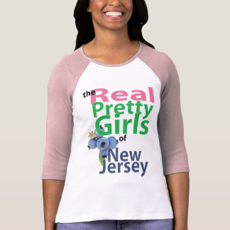 the real PRETTY GIRLS of New Jersey T-Shirt