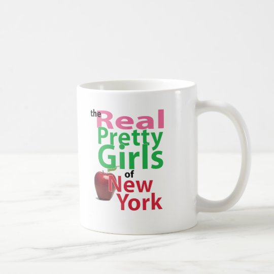 the real PRETTY GIRLS of New York Coffee Mug
