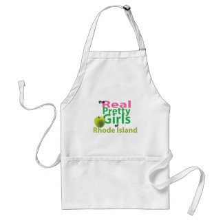 The Real Pretty Girls of Rhode Island Adult Apron