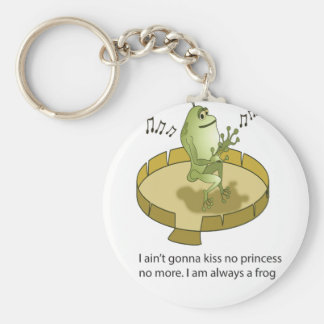 the real prince Frog Keychain