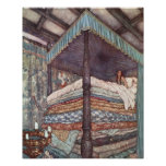 The Real Princess by Edmund Dulac Poster