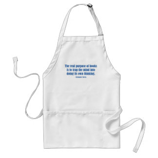 The Real Purpose of Books Adult Apron