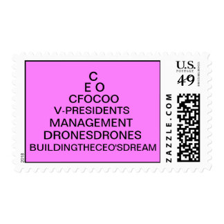The Real Pyramid Scheme! Postage Stamp