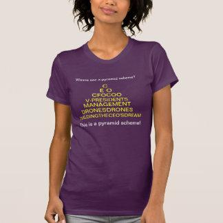 The Real Pyramid Scheme T Shirt