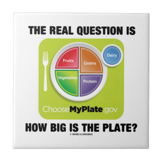 The Real Question Is How Big Is The Plate Ceramic Tiles