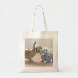 The Real Rabbit Tote Bag