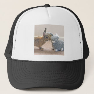 The Real Rabbit Trucker Hat