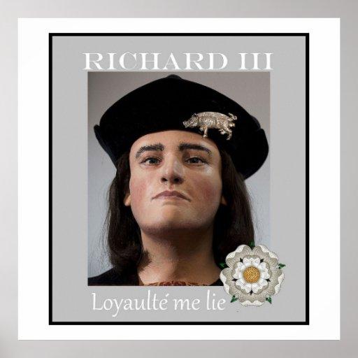 The real Richard III Print
