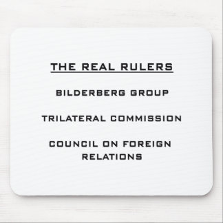 The Real Rulers Mouse Pad