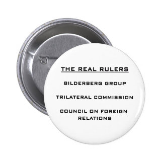 The Real Rulers Pinback Button