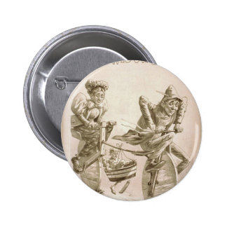 The Real Widow Brown Pinback Button