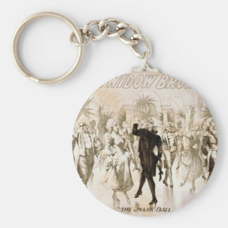 The Real Widow Brown, 'The Mask Ball' Vintage Thea Key Chains