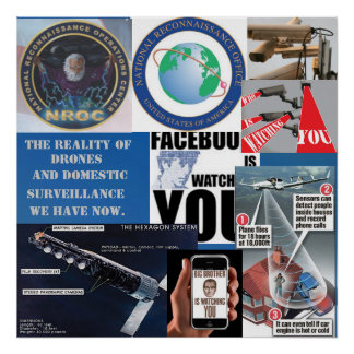 The Reality Of Drones and Surveillance Now Posters
