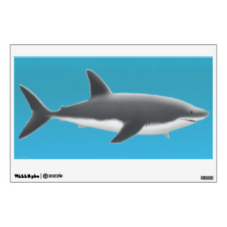 The Really Big Great White Shark Wall Decal
