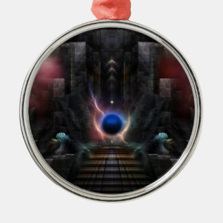 The Realm Of Osphilium Metal Ornament