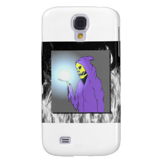 The Reaper and Flames Galaxy S4 Cover