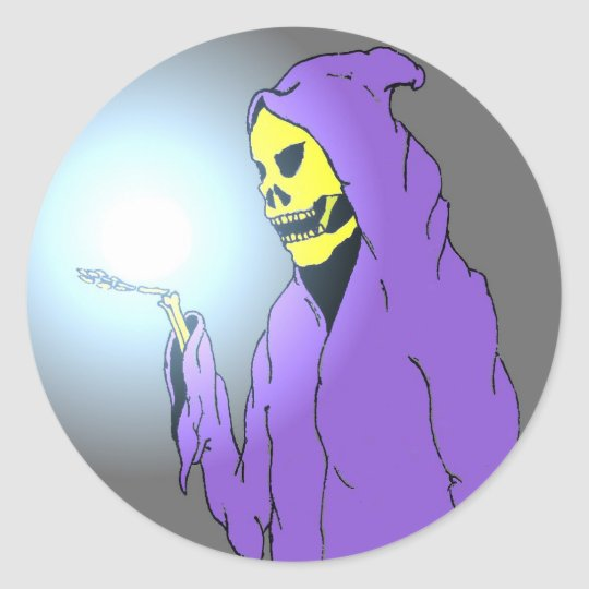 The Reaper and the Light Classic Round Sticker