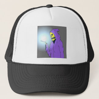The Reaper and the Light Trucker Hat