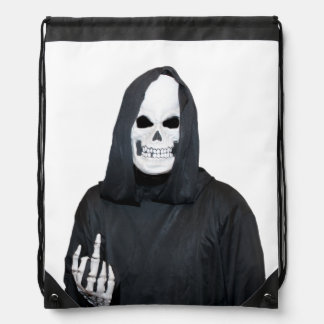 The Reaper Drawstring Bag