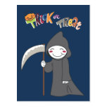 The reaper - Halloween Boys Post Cards