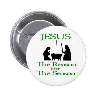 The Reason for The Season 2 Inch Round Button