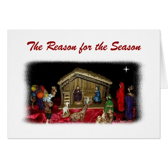 The Reason for the Season Card