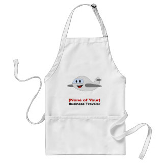 The Reason I am Traveling is None of Your Business Adult Apron