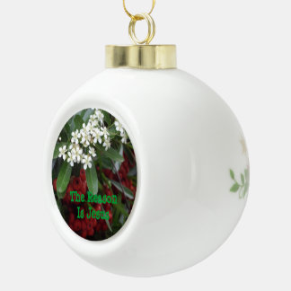 The Reason Is Jesus Christmas Ornament