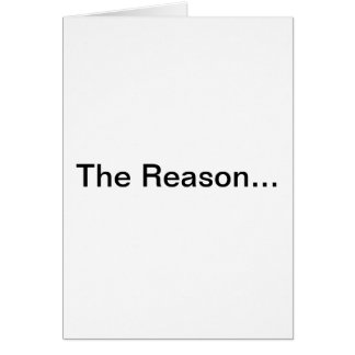 The Reason Series - Menopause Greeting Card