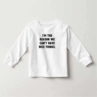 The Reason We Can't Have Nice Things Tee Shirt