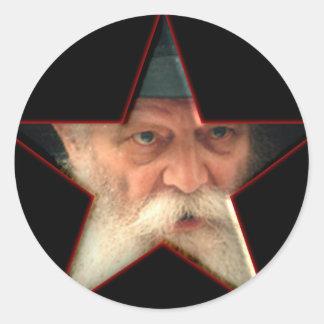 The Rebbe Classic Round Sticker