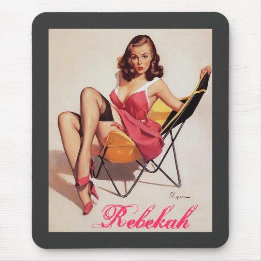 The Rebekah mousepad