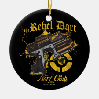The Rebel Dart Nerf Club Ceramic Ornament
