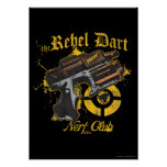 The Rebel Dart Nerf Club Poster