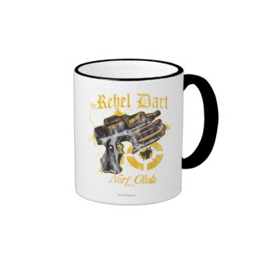 The Rebel Dart Nerf Club Ringer Coffee Mug