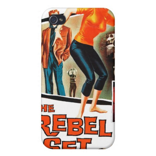 """""""The Rebel Set"""" iPhone Case iPhone 4 Covers"""